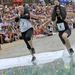 Negyvenkét pár indult a versenyen, amit egy 235,5 méteres, akadályokkal tarkított pályán rendeznek meg. A finn Tero KOIVUKOSKI (7) és felesége, Teresa VIILI, valamint a szintén finn Anton KHRELIATS (8) és felesége, Mirja KÄRNÄ versenyez.
