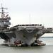 Az Egyesült Államok haditengerészete szombaton végérvényesen kivonta a szolgálatból a világ első atommeghajtású repülőgép-hordozóját, a USS Enterprise-t.