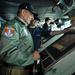 Leon E. Panetta, az Egyesült Államok védelmi minisztere látogatáson az Enterprise fedélzetén 2012. januárjában