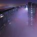 Szmogos pekingi városkép. Félő volt, hogy az ünnepi tűzijáték sem fog látszódni a szmog miatt, de az elmúlt napok hazavázai után tisztább lett a levegő