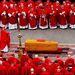 Ő volt az, aki II. János Pál temetési szertartását is vezette.
