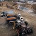 Mintegy negyven álarcos támadott meg vasárnapra virradóra Görögország északi részén egy bányatelepet, ahol a jövőben aranyat termelnének ki.