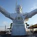 Készül a világ legnagyobb pápa-szobra.