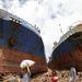 Partra vetett hajók Tacobanban.
