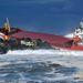 Kettétört egy spanyol trágyaszállító teherhajó a francia partoknál szerdán.