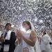 A valaha volt legnagyobb tömegesküvőn 30 ezer pár házasodott össze a szöuli olimpiai stadionban.