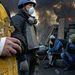Péntekre 77 halottról számolt be az ukrán egészségügyi minisztérium, ennyien vesztették életüket az elmúlt három nap összecsapásaiban.