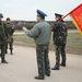 Az ukránok parancsnoka, Ihor Mamcsur ezredes ekkor tárgyalásba bocsátkozott az orosz fél parancsnokával, hogy bejuthassanak a bázisba.