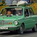 A Zaporozsecek még ma is gurulnak, bár már Ukrajnában is egyre ritkábban látni. Az 1994-ig gyártott léghűtéses, 840 kilós ZAZ968M típusú járgány 100 kilométeres óránkénti sebességre 32 másodperc alatt gyorsult fel. Utódja a ZAZ1102 Tavrija, amit 2007-ig gyártottak az ukrajnai gyárban. Városban 10 litert fogyaszt, bár Ukrajnában a benzin még mindig feleannyiba kerül, mint nálunk.