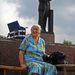 Szimferopol Ahol még áll Lenin. Amikor a kép készült, még sokfelé volt látható Ukrajnában Szovjet-Oroszország első kormányfőjének szobra. A Janukovicsot megdöntő tüntetéssorozat nyomán több tucat emlékművét ledöntötték, ám a Krímben erre nem került sor.