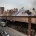 A Harlem keleti részén egy robbanást követően összedőlt két ötemeletes épület.