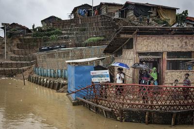 A viharos időjárás miatt 520 latrina vált használhatatlanná, ami 10 500 embert érint, növelve ezzel – az akár halálos - járványok kitörésének kockázatát