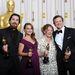 Christian Bale, Natalie Portman,  Melissa Leo és Colin Firth - a legjob színészek a díjaikkal