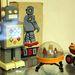 Ez egy nagyobbacska robot, felhúzós, szovjet.