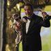 A legjobb férfi főszereplő, Jean Dujardin és kedvenc kutyája, Uggie