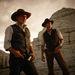 A Harrison Ford-imitátor Daniel Craiggel a Cowboyok & űrlényekben