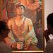Így még nem röhögött múzeumban. A kínai állam  a Szépművészetiben mutatja meg, hogy nincs szebb, mint a kommunizmus és egy külszíni bányagödör.Az izzadt kohászfiú a munkára gondol