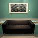 Modern művészet kanapéval