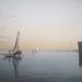 Halászhajók az óceán partján