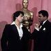 Sylverster Stallonet Oscarra jelölték Rocky szerepéért, de végül csak a film nyerte el a legjobb film, legjobb rendező és legjobb vágás díjakat. Sly az átadón Muhammad Alival pózolt egyet. (1977)