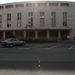Az Erkel Ferenc színház épülete és homlokzata a megnyitás előtti nap délelőttjén.