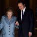 2010-ben David Cameron miniszterelnökkel a Downing Street 10 szám alatt, ahol egykor ő is lakott. A 85. születésnapjára készült, de influenza miatt le kellett mondania a miniszterelnöki rezidencián rendezett fogadást.