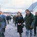 1983-ban a Falkland-szigeteken, egy békés iskolalátogatáson.