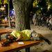 Az utolsó alvás egy kényelmes sörpadon