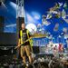Vasárnap véget ért a Sziget Fesztivál, éjjel elindult a nagytakarítás és a helyszínek bontása.