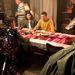 Mátyássy Áron itt épp egy vacsorajelenetet forgat a bakonyi vadászházban