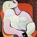 Picasso képén a nő már nem álmodik, hanem zenét hallgat