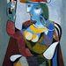 Marie Therese Walter portréja, Picasso alkotása.