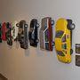 Makettautókkal van telezsúfolva a Lucasfilm-irodák fala