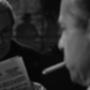 SZ. Sakall (született Gerő Jenő), aki a Casablancában Carl-t, a főpincért alakította. Mellette barátja, Michael Curtiz (színészek: Gyabronka József & Lengyel Ferenc)
