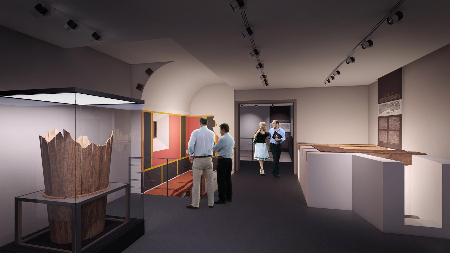 A Klapka György Múzeum új épülete kialakítása már elkezdődött, modern körülmények közé költözhetnek majd ide az értékes brigetiói leletek.