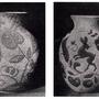 Gorka Géza kerámiái - Magyar Iparművészet  1942. A háború éveiben Gorka ismét a népies motívumok felé fordult, de ezek nem népművészeti tárgyak, hanem népi ihletésű modern kerámiák