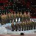...az orosz katonazenekarig mindent felvonultattak
