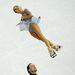 Vera Bazarovát a páros rövid programban párja Jurij Larionov figyeli. 69.66-ot kaptak. 6.-ok lettek