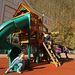 A gyerekeket nem hozza lázba az olimpia, de a mászóka annál inkább