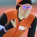 Jorien ter Mors örül győzelmének a nők 1500 méteres gyorskorcsolya döntőjében