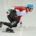 Knoch Viktor a férfi 500 méteres rövidpályás gyorskorcsolyázás középfutamában