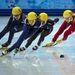 A női 1000 méteres short track döntőt a koreai Park Seung-Hi nyerte