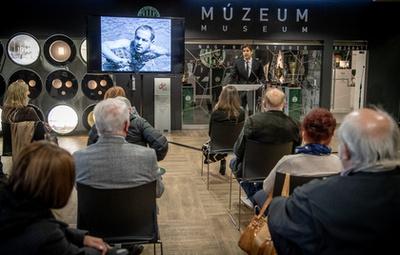 Madaras Norbert mondta a beszédet a kiállítás megnyitóján