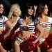 Az idei 49ers - Ravens döntőben San Francisco és Baltimore csinos és atletikus lányai szórakoztatják majd az NFL nézőit, ám minden, az amerikai futball ligában szereplő csapat igyekszik a lehető legszemrevalóbb pompomlányokat  felvonultatni