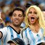 Argentína szinte hazai pályává változtatta a Maracanát, a válogatott első meccsére rengetegen utaztak Brazíliába