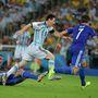 Messi harmadik vb-jén még csak második gólját lőtte