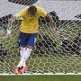 Neymar már bent volt a kapuban csak a labda hiányzik