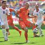 Robben nagy formában volt, de nem akadt játszótársa.