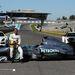 Louis Hamilton és Nico Rosberg a jerezi tesztpályán