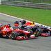 Fernando Alonso és Mark Webber